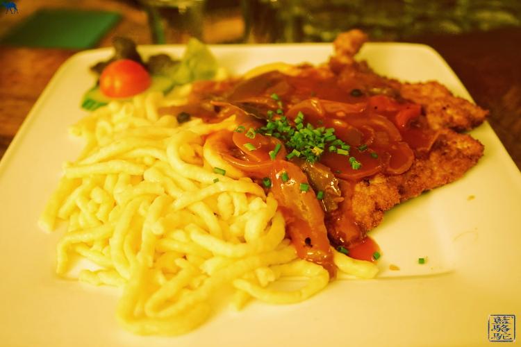 Le Chameau Bleu - Schnitzel au Restaurant SUDPFANNE a Heidelberg