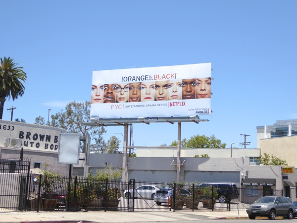 Orange is the New Black 2016 Emmy FYC billboard