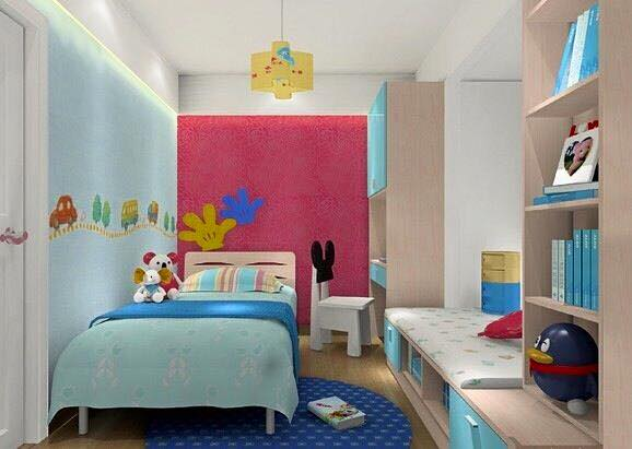 Desain Kamar Tidur Minimalis Anak