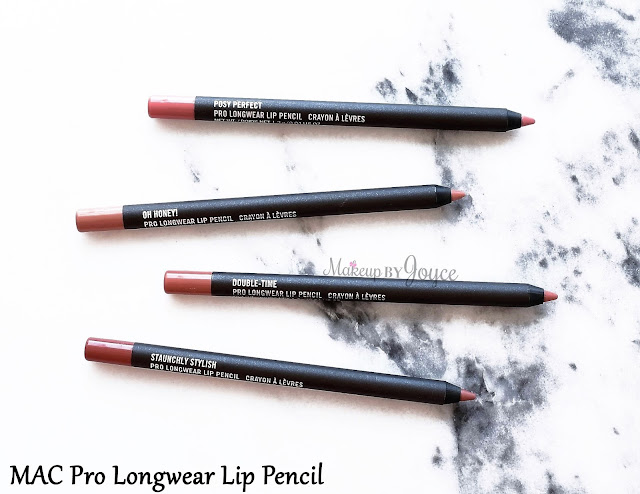 MAC Pro Longwear Lip Pencil Double Time Staunchly Stylish Review