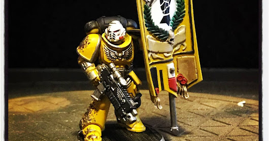 Painting Update - Imperial Fists
