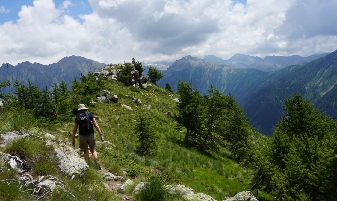 Trail near Serre Long Boréon