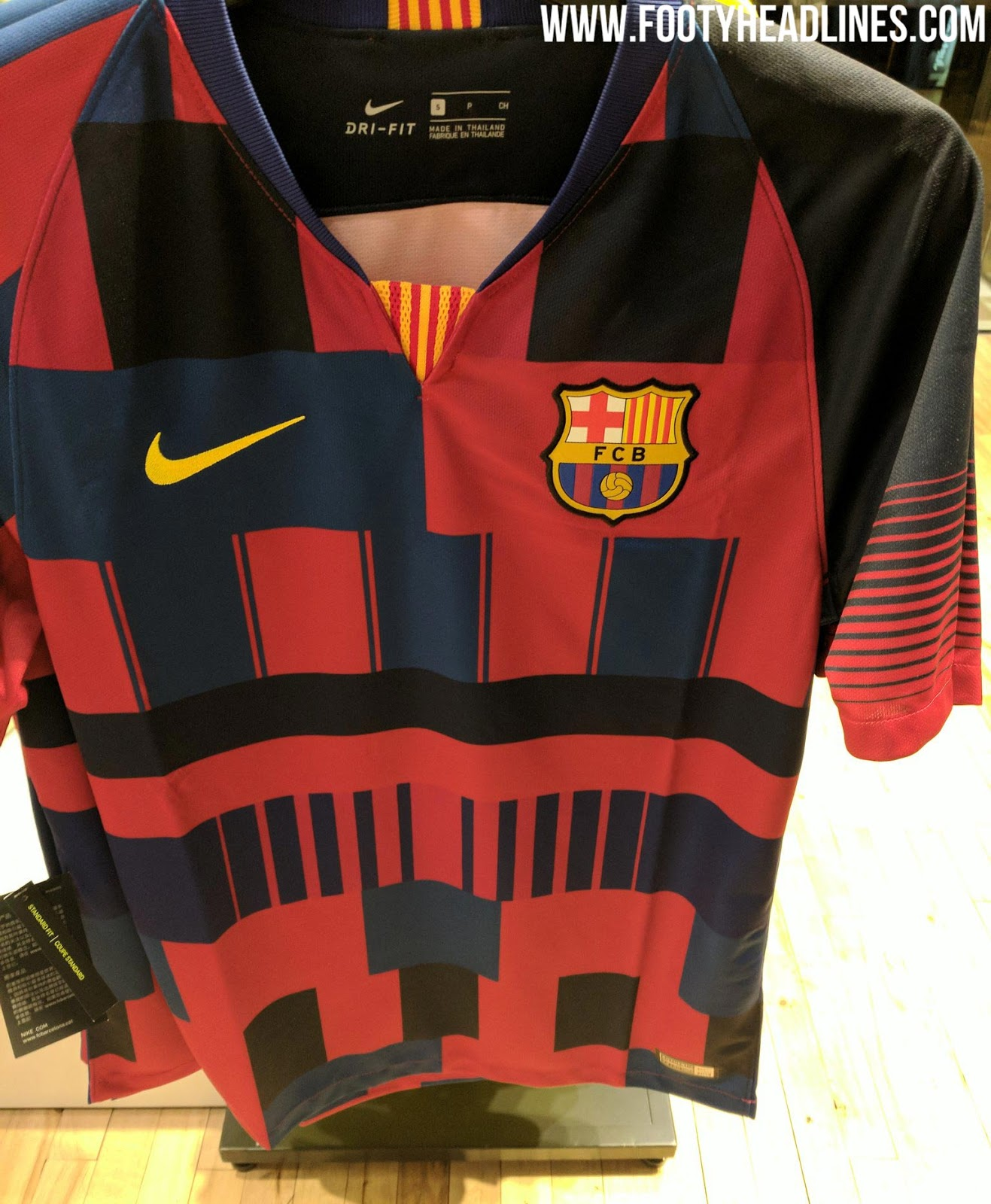 3a30db97058 Nike FC Barcelona Mashup Jersey Leaked - Launch Immediate