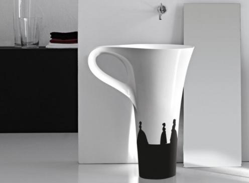 CREATIVE BATHROOM SINK DESIGNS