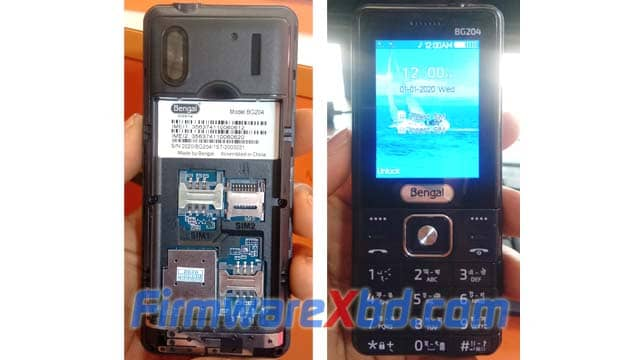 Bengal BG204 Flash File Download