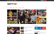 (Free)(Premium) SportsMag Blogger Template Themes