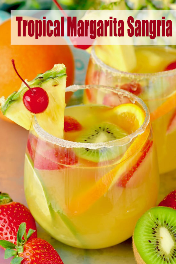 Tropical Margarita Sangria