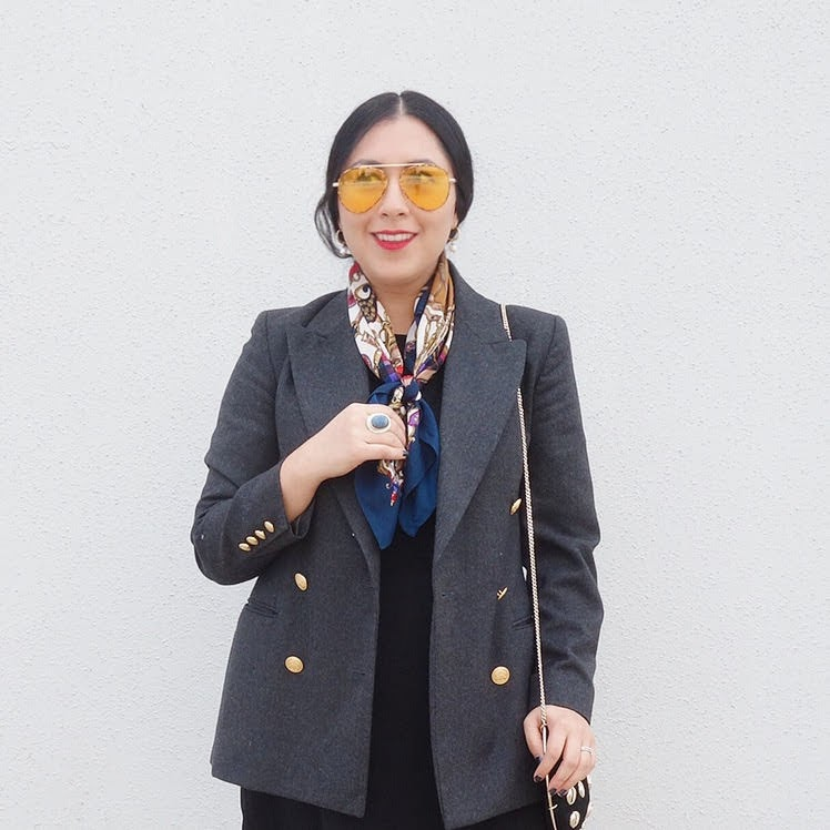 Blazer Trend for Fall 2019, Vintage blazer, Sustainable Fashion,