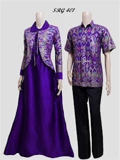 Baju Batik Gamis Model Bolero Srg 401