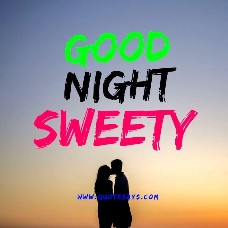 Good Night Couple Kiss