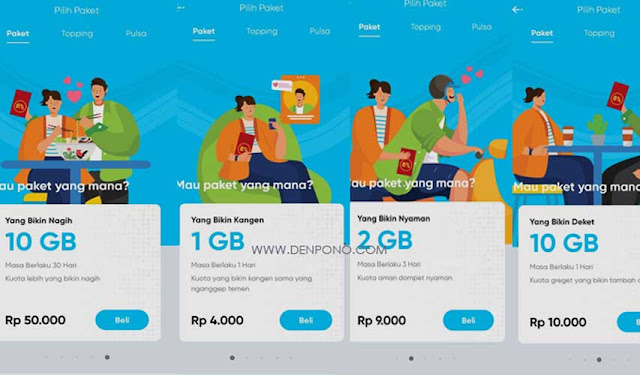 Inilah Daftar Harga Paket Internet Byu Telkomsel