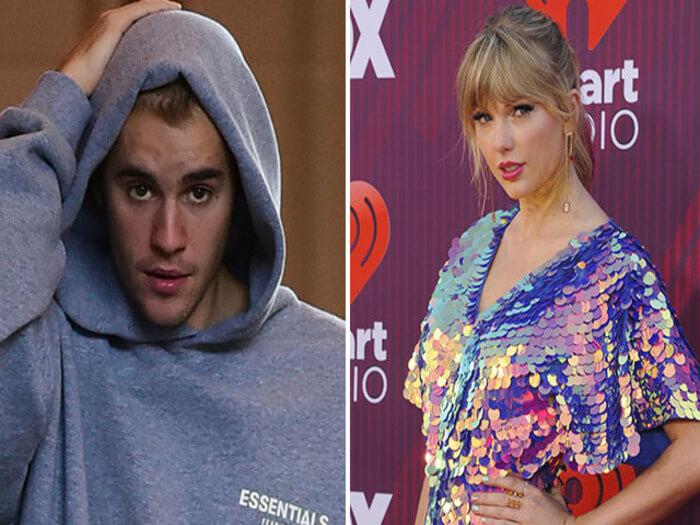 Justin-bieber vs Taylor-swift