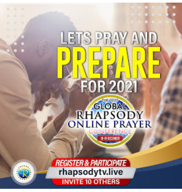 """Live Stream"" Rapsody online prayer conference 2020"