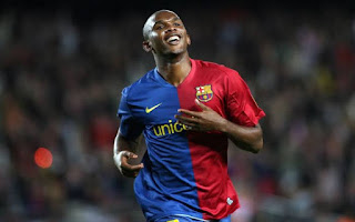 I can't imagine Barcelona with out Messi: Eto'o