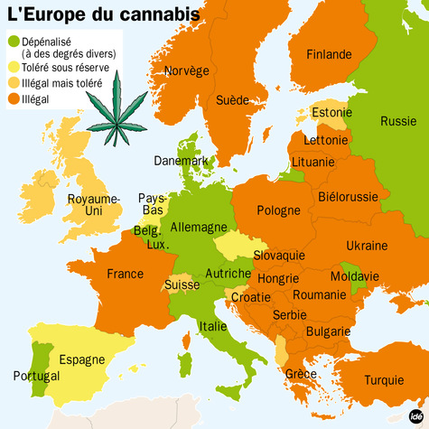 how to ask for marijuana in french