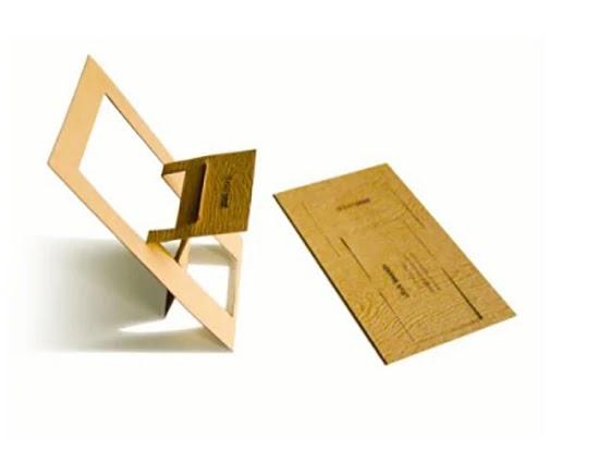 kursi lipat kreatif dari plywood