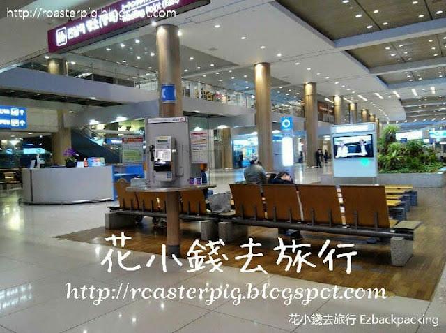 首爾仁川機場充電設施
