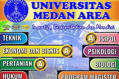 Biaya Kuliah T.A 2019/2020 UMA - Universitas Medan Area, Medan