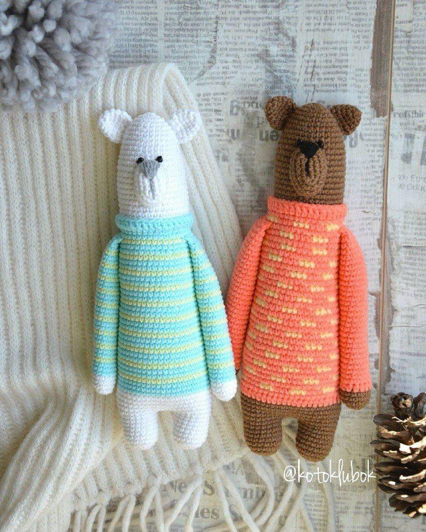 amigurumi teddy bear – Free Amigurumi Crochet | 1080x864