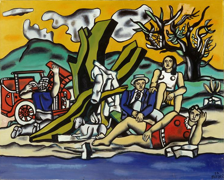 Fernand Léger, The Country Outing, 1953