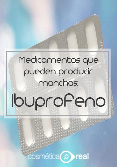 Medicamentos que pueden producir Fotosensibilidad: Ibuprofeno