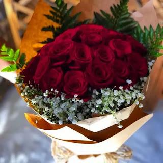 باقة ورد احمر جميلة