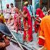 बरसाना की गलियों में खेली गयी लठामार होली   Holi played in the streets of rainy season