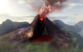 Gunung St. Helens Volcano, Washington