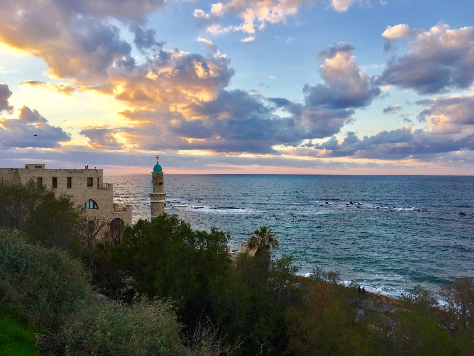Golden hour Old Jaffa