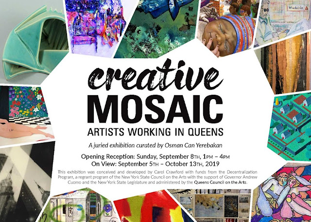 """LIC–A's """"Creative Mosaic: Artists Working in Queens"""" Exhibition"""