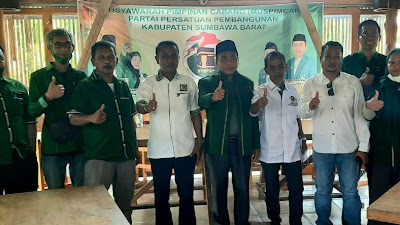 DPC PPP KSB Dukung Muzihir Pimpin PPP NTB