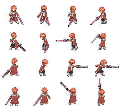 Sprite a bit: Character attack for Divine Crysis Project