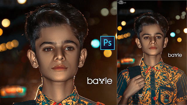 Professional Easy Techniques Of Dark Skin Retouching Photoshop CC | Bokeh Dark Photo Editing Ps CC