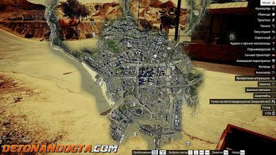 Mapa de Satélite em 4K para GTA 5