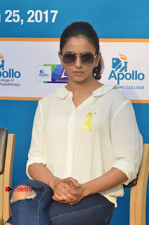 Actress Rakul Preet Singh at Endometriosis Awareness Walk at Apollo Cradle  0085.jpg