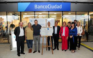 """Por primera vez un banco llega al barrio donde estuvo el """"Elefante blanco"""" en Villa Lugano"""