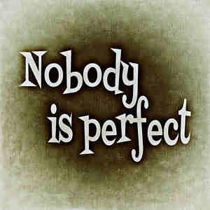 Blogger Tidak Perlu Menjadi Manusia Sempurna
