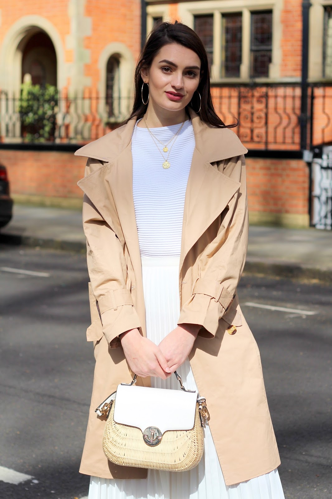 spring style peexo ways to wear neutrals