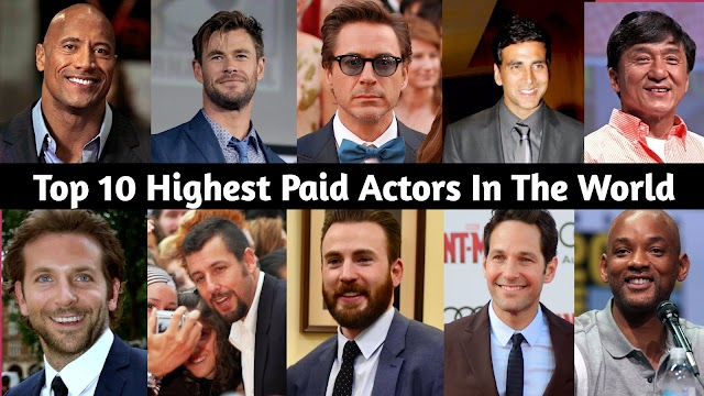 Top 10 Highest Paid Actor In The World 2020 - Superfasternews.com