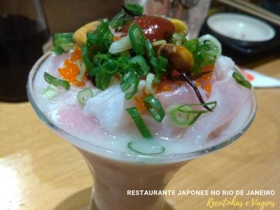 Restaurante japonês Rio de Janeiro - pratos especiais