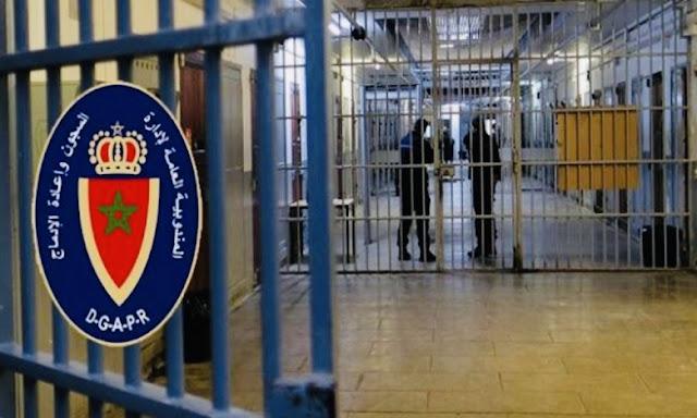 مندوبية السجون تؤكد بأنه لم يتم تسجيل أية حالة إصابة جديدة بالمؤسسات السجنية التابعة لـ8 جهات بالمغرب✍️👇👇👇