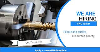 10th Pass, ITI Experienced Candidates Required For CNC Turner in Godrej & Boyce Mfg. Co.Ltd, Vikroli, Mumbai
