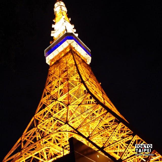 【東京鐵塔】到塔上看車陣匯聚成「逆鐵塔」倒影
