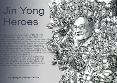 Pendekar Terhebat Chin Yung (Jin Yong)