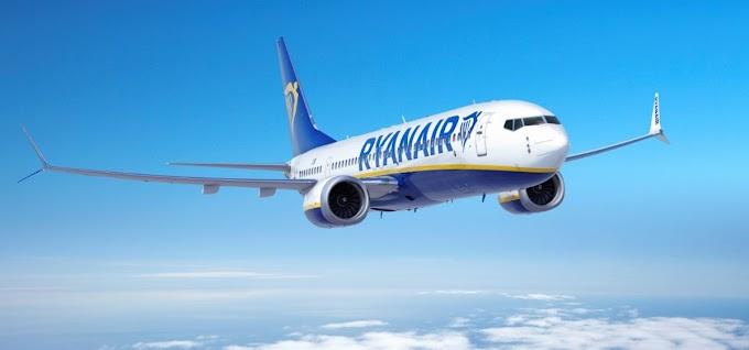 """Ryanair dà il benvenuto al nuovo Boeing 737 """"Gamechanger"""" a Milano Bergamo"""