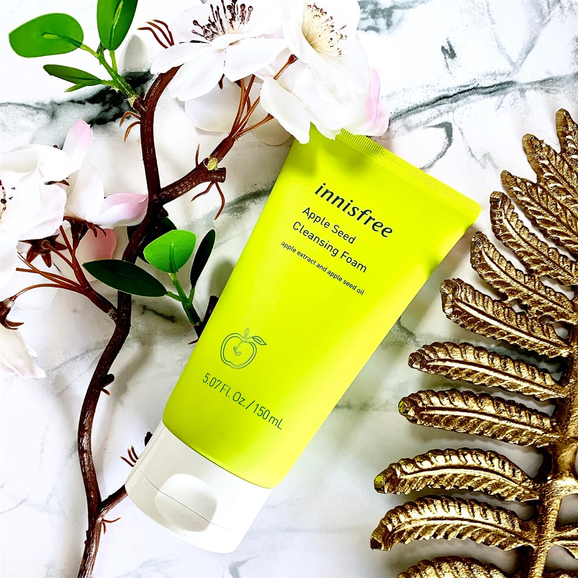 Innisfree Apple Seed Cleansing Foam nowa wersja blog
