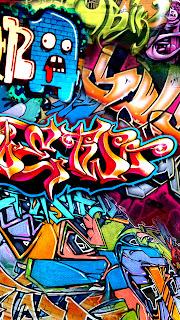 Wallpaper Graffiti Keren Untuk HP Android