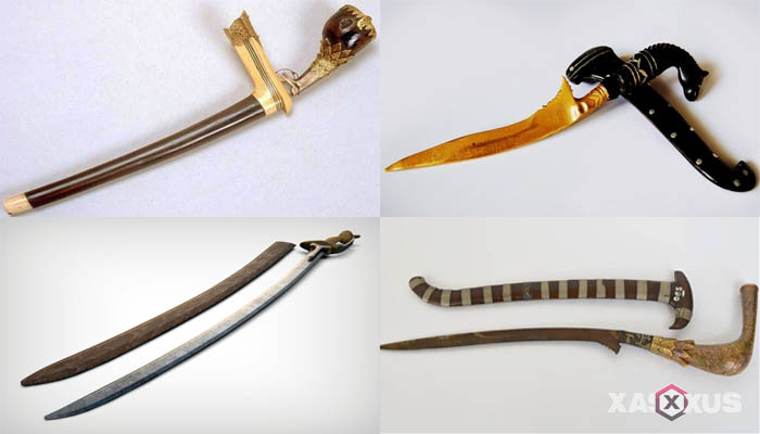11 Senjata Tradisional Aceh Beserta Gambar dan Penjelasannya