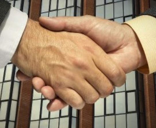 Is shaking hands on the edge of extinction?