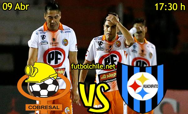 VER STREAM RESULTADO EN VIVO, ONLINE: Cobresal vs Huachipato
